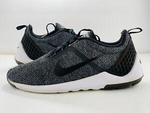 Nike-Lunarestoa-2-Gray-Black-821772-001-Men-039-s-Training-Sneakers-Size-10