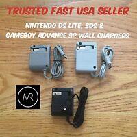 Nintendo 3ds Dsi Xl Ds Lite Gameboy Advance Sp Ac Wall Charger Usa Seller