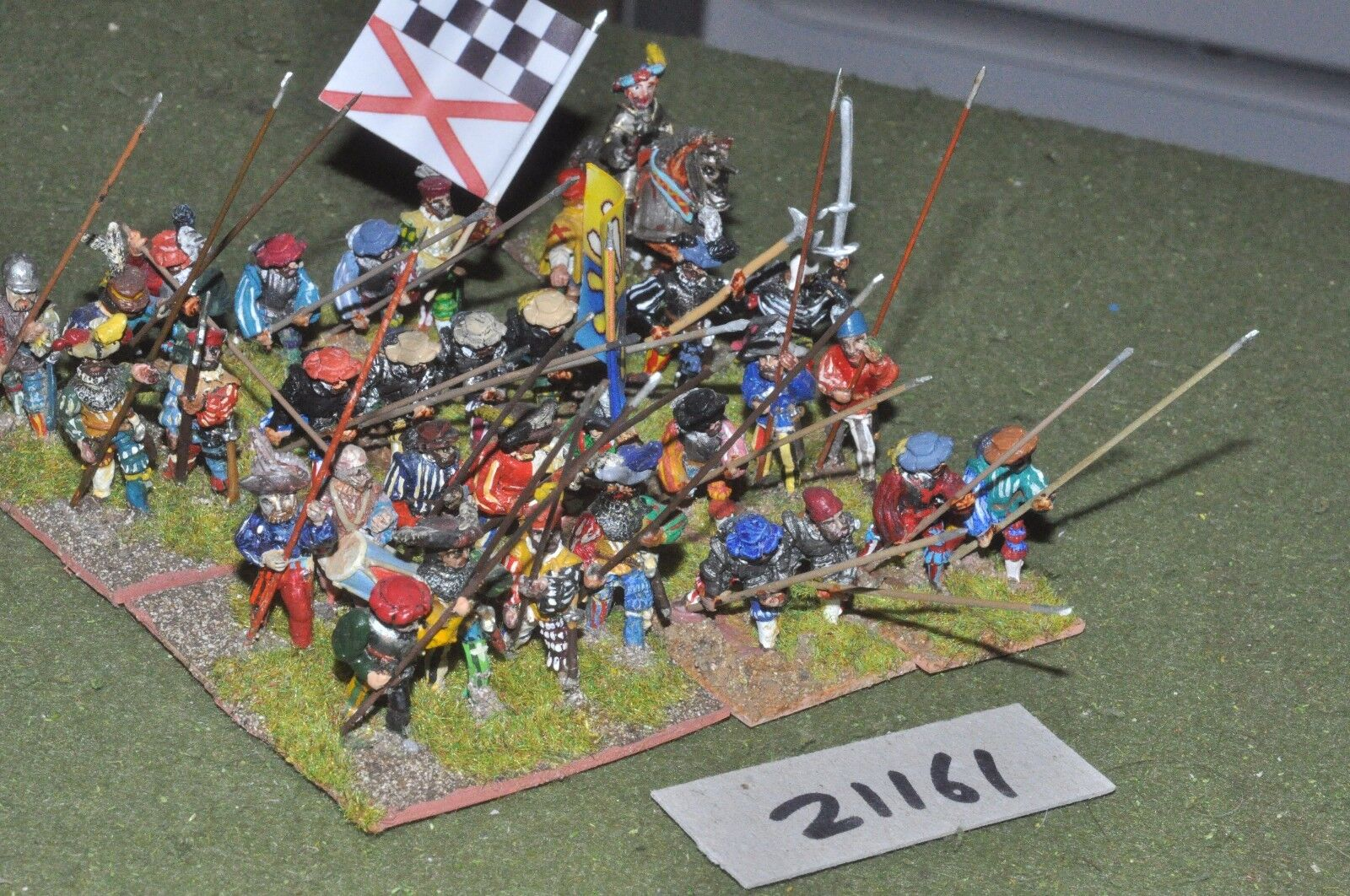 25mm renaissance   generic - infantry 32 figures - inf (21161)