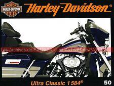 HARLEY DAVIDSON 1584 Electra Glide Ultra Classic ; Tony KENDRICK Le Logo MOTO