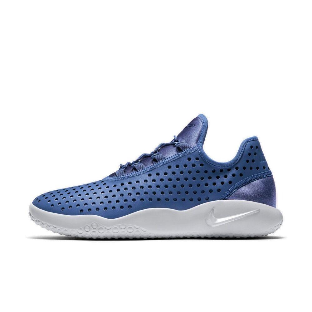 Nike FL-RUE Homme Basket Hi Top Shoe Bleu Moon Couleur Taille 8 9 10 RRP £ 80/- NEUF-