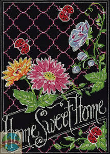 Design Works Counted Cross Stitch Kit HOME SWEET HOME 2477