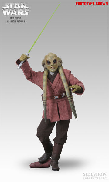 1/6 Scale Star Wars Kit Fisto Exclusive Version Sideshow Collectibles Used