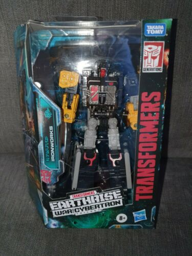 Earthrise Deluxe Ironworks Transformers War for Cybertron