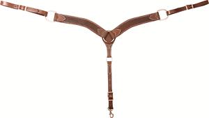Cashel Chocolate cesta breastcollar Sa-BC 152 CHBS