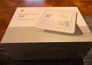 "Google Home Hub with Google Assistant Smart 7"" Display - Chalk Grey"
