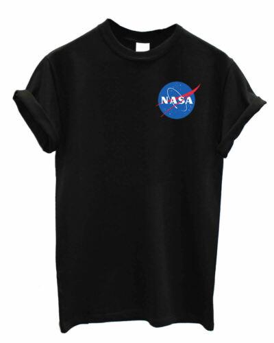 Nasa UNISEX Astronaut Geek space explorer nerd print cosmos Star Fan art Tshirt