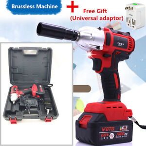 ELECTRIC-IMPACT-WRENCH-Brushless-Cordless-Rechargeable-360-Nm-Universal-Adaptor