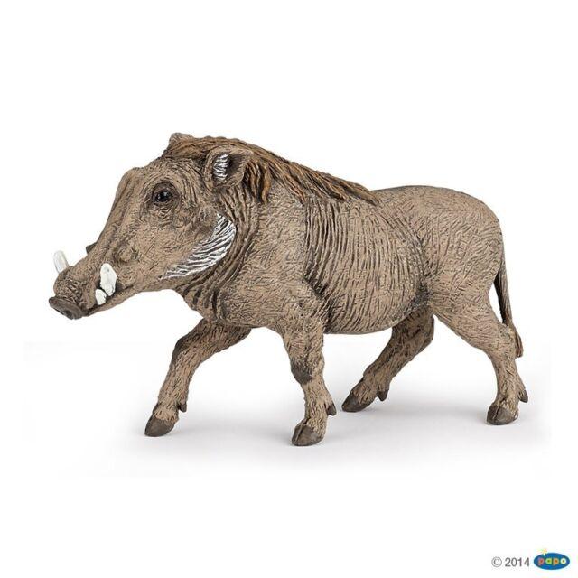Papo 50180 Warzenschwein 9 cm Animale Selvaggio