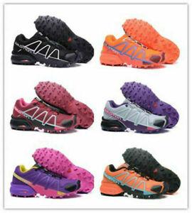 Women-Salomon-Speedcross-4-Athletic-Running-Training-Sports-Outdoor-Hiking-Shoes