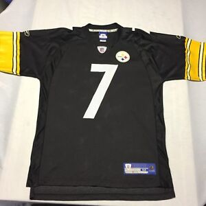 07c6adb0c Image is loading Ben-Roethlisberger-Pittsburgh-Steelers-NFL-Football-Jersey -Field-