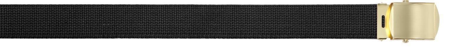 Baumwolle Militär Web Gürtel mit Messing Oder Chrom Schnalle