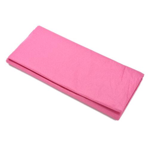 20 feuilles de papier tissu solide couleur Papier Sans Acide Fleurs 6 Couleurs Pip TK