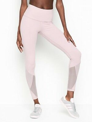 6c934b4317c9b Victorias Secret Knockout by Victoria Sport High Rise Tight Purple Mesh S  Short   eBay