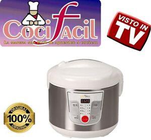 COCI FACIL 9 in 1 Robot Da Cucina Potenza 700w Cottura al Forno e a Vapore 5 Lt.