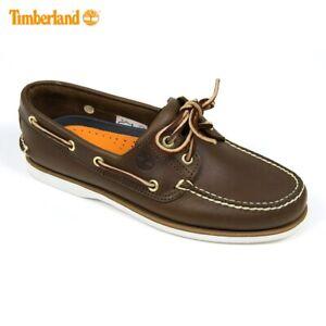 Dettagli su Timberland Classic 2 Eye Brown Scarpe da barcaDEL PONTE 74035 RRP £ 120.00 mostra il titolo originale