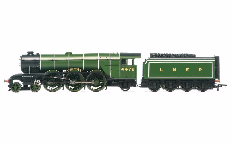 RailRoad, LNER, A1 Class, 4-6-2, 4472 'fliegen Scotsman' with TTS Sound - Era 3