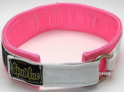 NEW Spud Womens Pink 2 ply Deadlift Belt Deadlifting Weightlifting Cross Train
