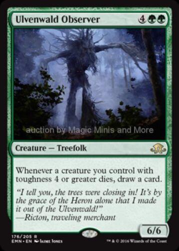 Eldritch Moon ~ ULVENWALD OBSERVER rare Magic card