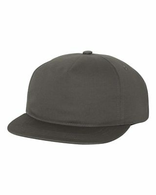ss Yupoong  6502 Unstructured 5-Panel Snapback Cap softstructured  Hat