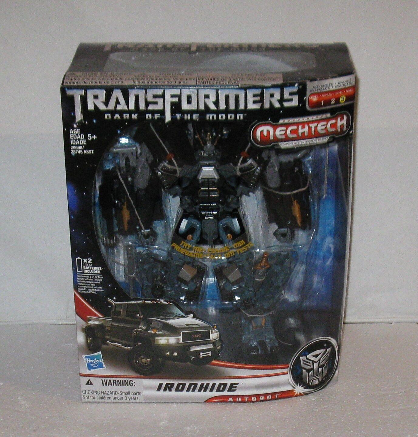 Seltene transformatoren mechtech ironhide autobot - mb 2010 versandkosten