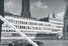 Ulm an der Donau - Die neue Sparkasse - um 1955 - selten!