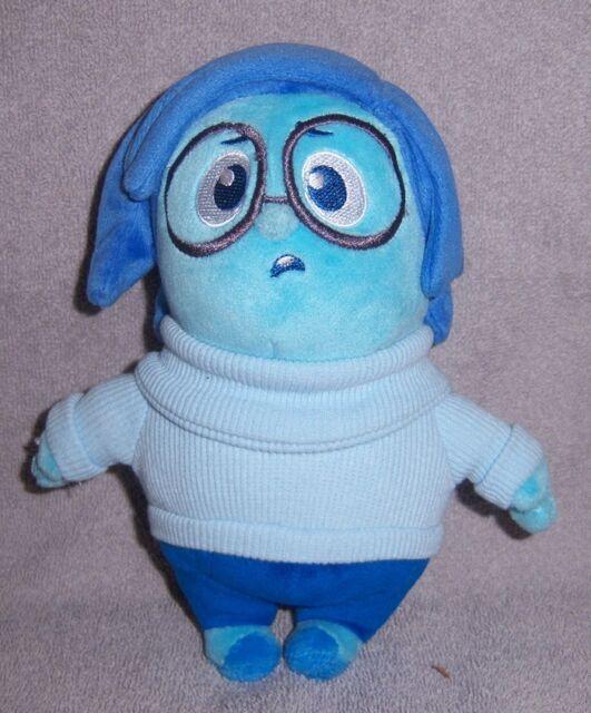 Disney Pixar Inside Out Sadness Stuffed Plush 7