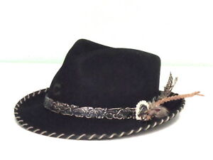 Image is loading CHARLIE-1-HORSE-WILD-HORSE-WOOL-FEDORA-HAT 518747e7a898