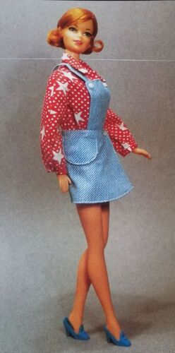 #3353 Barbie Sport Star Best Buy Fashions 1970s doll clothes 1972 Vintage Barbie