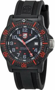 Luminox-8815-Men-039-s-Black-Ops-Resin-with-Red-Accents-44mm-Rubber-Watch