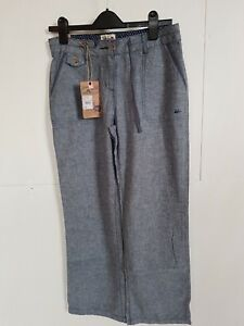 Mix Linen 35 Pantaloni Uk Mantaray Bnwt Tag Navy Hatch X 10 Short £ qZ5dRPPwH