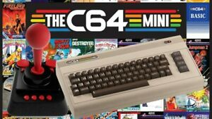 The-C64-Mini-Console-Videogames-Deep-Silver-EU-IMPORT-1-Joystick-64-Games