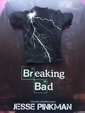 Brba Threezero Breaking Bad Jesse Pinkman Camiseta Negro Suelto Escala 1/6th
