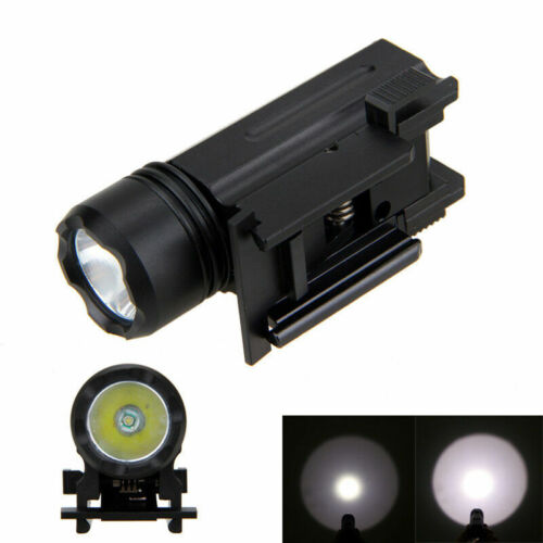 3000LM XPE Q5 LED 150yard Tactical Flashlight for Rifle//Gun Mount Hunting Light