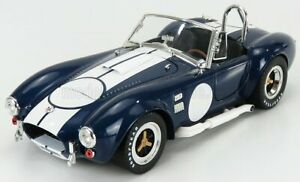 SHELBY-COLLECTIBLES 1/18 FORD USA   SHELBY COBRA 427 S/C SPIDER 1962   BLUE M...