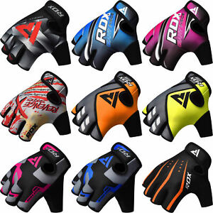 RDX-Cycling-Motorcycle-Bike-Gloves-Half-Finger-Racing-Breathable-Gel-Sport-Glove