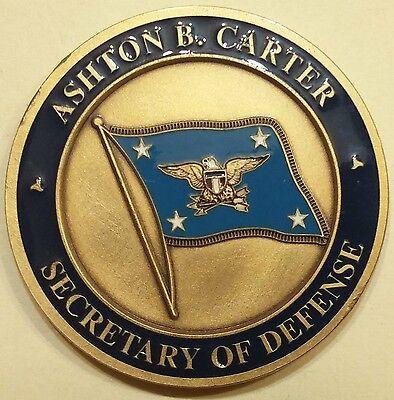 ashton b carter challenge coin