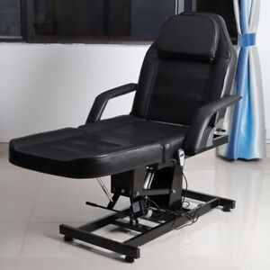 Super Details About Luxury Leather Massage Table Beauty Salon Chair Bed Tattoo Uk Electric Hydraulic Ibusinesslaw Wood Chair Design Ideas Ibusinesslaworg