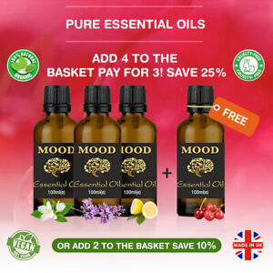 Essential-Oils-100ml-Aromatherapy-Oil-Fragrances-Pure-Natural-Organic-Diffuser