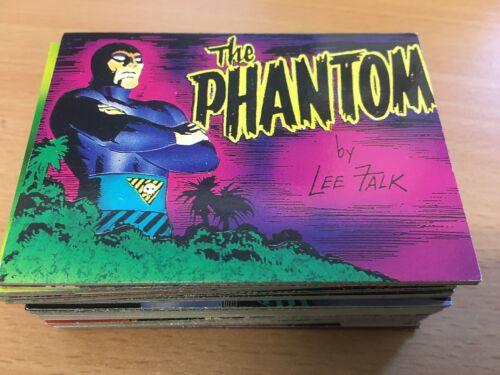 1995 by Lee Falk PHANTOM Comic Images Complete Base Set ^^^ 90 Cards