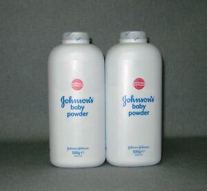 Treu 2 X Johnson`s Baby Powder 1000 G Puder Schütz Mild Vor Reiben Und Scheuern