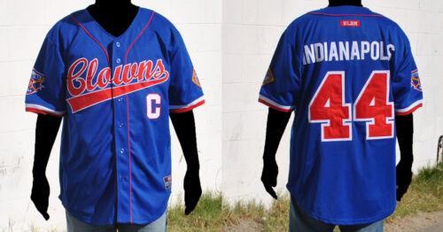 NLBM Negro League Baseball Jersey Indiana Clowns