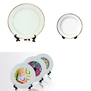 Image is loading Personalised-Dinner-Plate-With-Any-Image-Photo-Text-  sc 1 st  eBay & Personalised Dinner Plate With Any Image Photo Text Design Custom ...