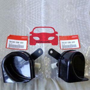 Set-Of-2-Tone-Horn-For-Honda-Accord-Fit-Acura-RL-TSX-38150SDBA02-38100SDBA02