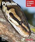 Pythons by Ernie Wagner, Pat Bartlett (Paperback, 2009)