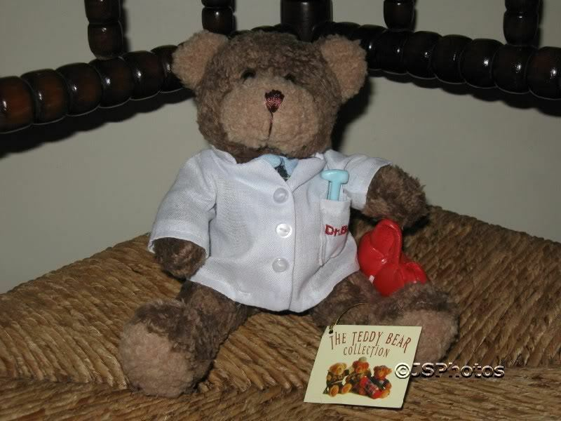Teddy Bear Collection UK Donald The Doctor Handmade