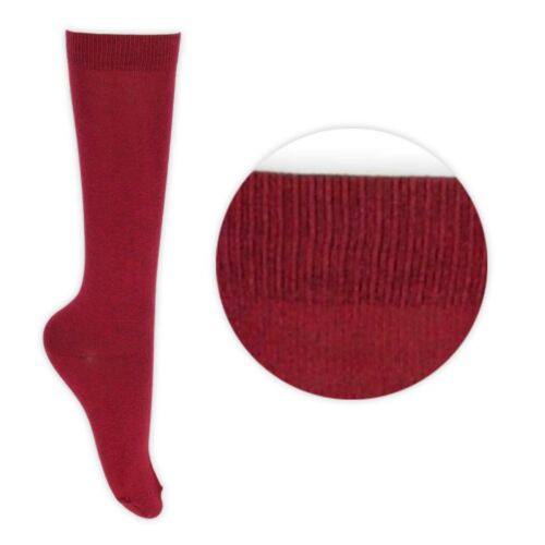 New Girls Women Knee High School Socks Packs of up to 12 Pairs 8 Colours LOT