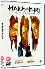 HARA KIRI - DEATH OF A SAMURAI - DVD - REGION 2 UK