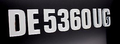 "Boat Registration Numbers Domed Numbers Raised BLOCK 3"""