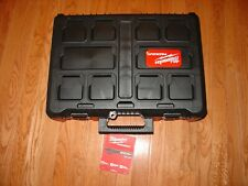 Milwaukee 48 22 8450packout Case Withfoam Insert For 2853 22 Impact Drill Kit